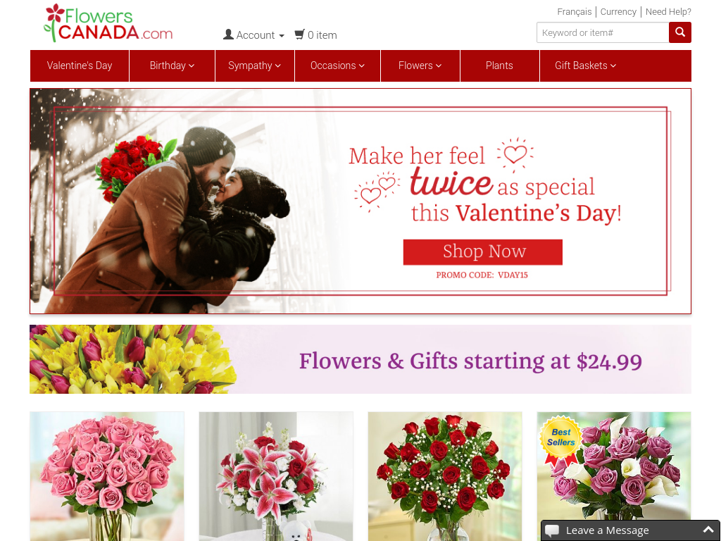 Send Flowers Online in Canada | Flowers Canada